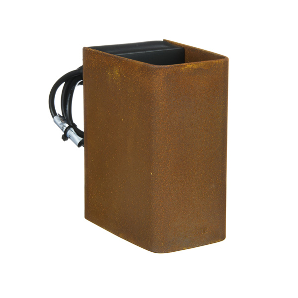 In Lite | Ace Up-Down Corten | Muurlampen