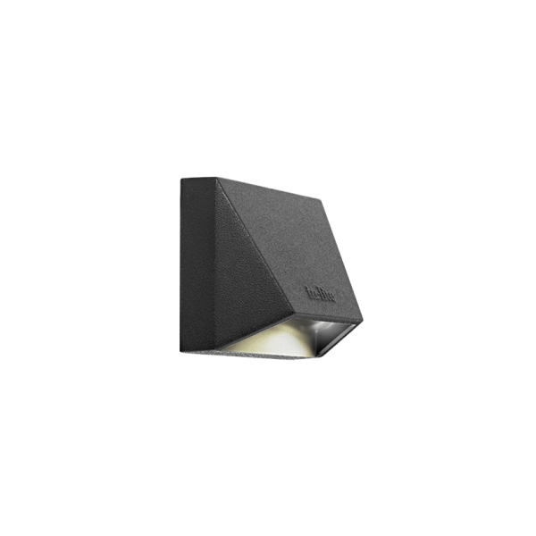 In Lite | Wedge Mini Dark | Muurlampen